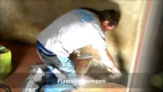 tibas drainage installatie pomp