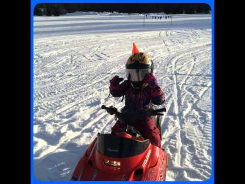 Kids' Snowmobile Tour in Okemo, VT