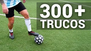 300 + FOOTBALL/SOCCER SKILLS YOU MUST LEARN - TUTORIALS, Tips & Tricks