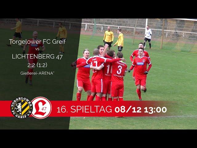 Oberligateam: Spielszenen TFC Greif – Lichtenberg 47