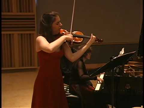 Enescu Sonata No.3 Kathrin ten Hagen, Dina Vainshtein