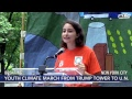 BREAKING: Zero Hour NYC Youth Climate March. The time for environmental action is now.