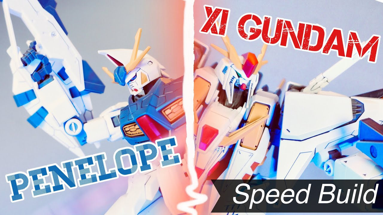 Speed Build bộ HG siêu khủng Xi Gundam VS Penelope Funnel Missile Effect Set   nShop - Game & Gunpla