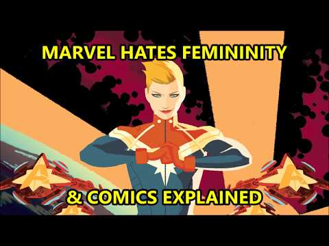 SJW MARVEL HATES STRONG BEAUTIFUL WOMEN IN COMIC BOOKS, COMICS EXPLAINED VS TRUE BELIEVERS