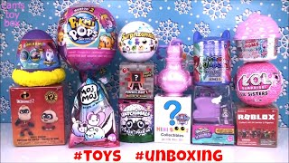 #toys Pikmi POPS NUM NOMS LOL Surprise Paw Patrol PJ Masks Roblox Unboxing Fun Review
