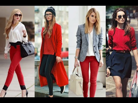 Image result for ropa en color rojo