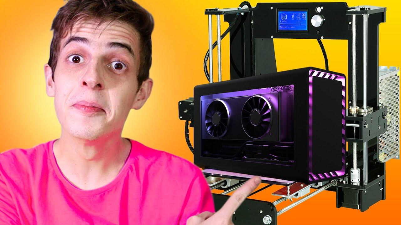 Imprimi um gabinete inteiro na IMPRESSORA 3D