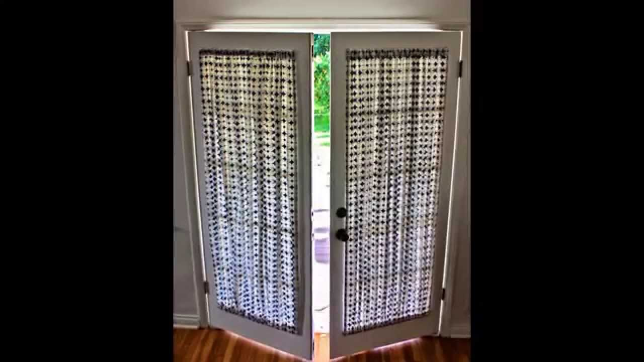 door panel curtains by colormehousecom - Door Panel Curtains