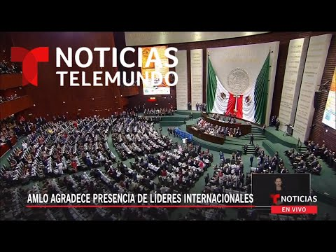 """¡Dictador, dictador!"" estalla protesta contra Nicolás Maduro en San Lázaro | Noticias Telemundo"