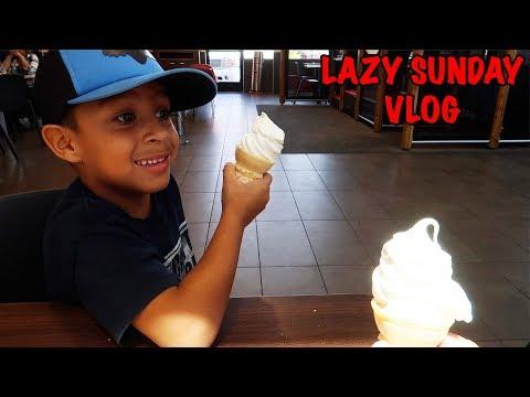 LAZY SUNDAY | McDONALD'S BREAKFAST | D&D SQUAD VLOGS