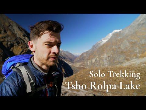 Solo Trekking in Nepal Himalayas - Tsho Rolpa Lake Trek