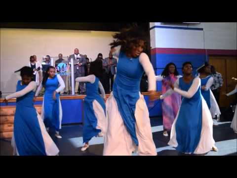 Word In Action Praise Dancers dance to Jekalyn Carr ' You're Bigger' on our 2016 Shepherds Day.
