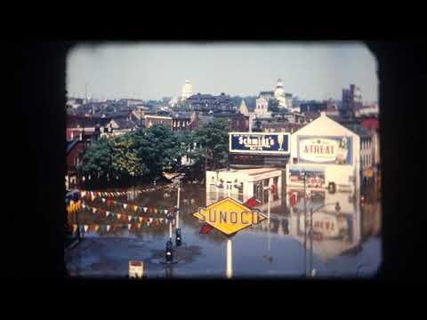 1955 Flood Of Easton, Pennsylvania