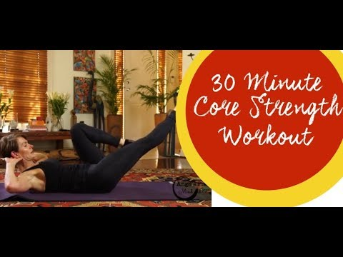 Ange's Pilates 30 Minute Core Strength Workout