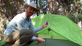 Nemo Hornet 1P Tent Review From The JMT