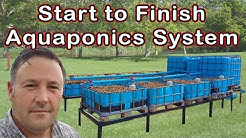 AQUAPONICS - Step by Step Instructions - From Start to Finish