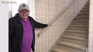 Отделка металлической лестницы лиственницей.Обзор и отзыв заказчика.