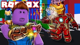 We got THE POWERS of THANOS in ROBLOX !!