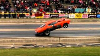 Barracuda goes over 900 feet in a wheelstand