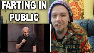 Farting In Public | George Carlin Stand Up Reaction