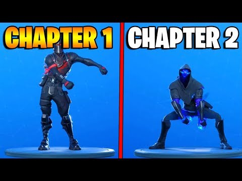Evolution Of Fortnite Dances & Emotes! (Chapter 1 Season 1 - Chapter 2 Season 1)