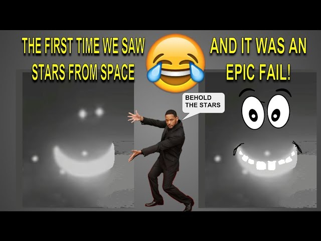WHY NASA DOESN'T FAKE STAR FOOTAGE 🌟🌛✨ (ONE GIANT FAIL FOR MANKIND!)
