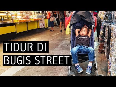 Tidur Di Bugis Street ❤ SINGAPORE VLOG