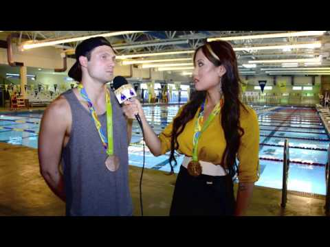 Olympic Champ Cody Miller On Return Home To Vegas, Sandpipers Swim Team, Ryan Lochte, Michael Phelps