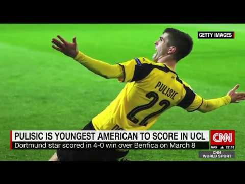 Christian Pulisic talks club and country