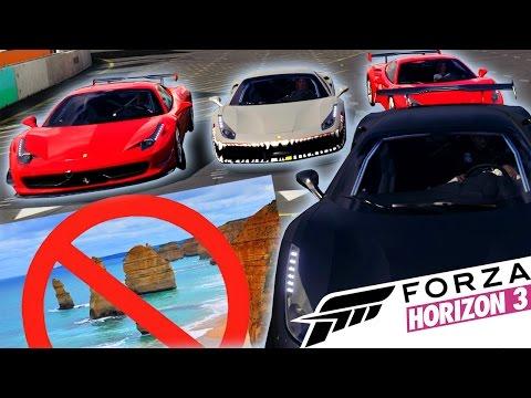 STRANDET (Norsk Forza Horizon3)