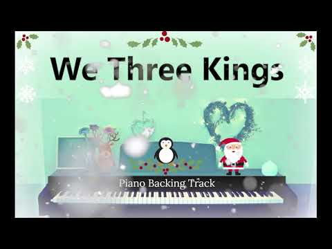 WE THREE KINGS | Christmas Backing Track | Verba Vocal