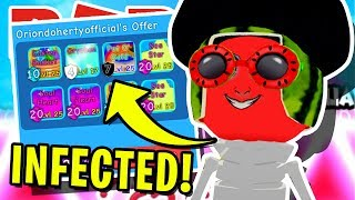 *MAD* SCIENTIST CREATES *INFECTED* SECRET PET IN ROBLOX BUBBLEGUM SIMULATOR!! [ZOMBIE APOCALYPSE]