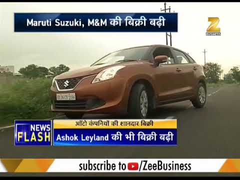 Maruti Suzuki, Mahindra and Ashok Leyland shares rise post August sales numbers