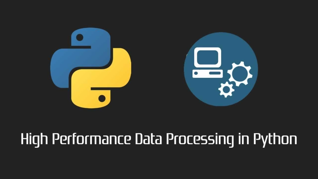 High Performance Data Processing in Python
