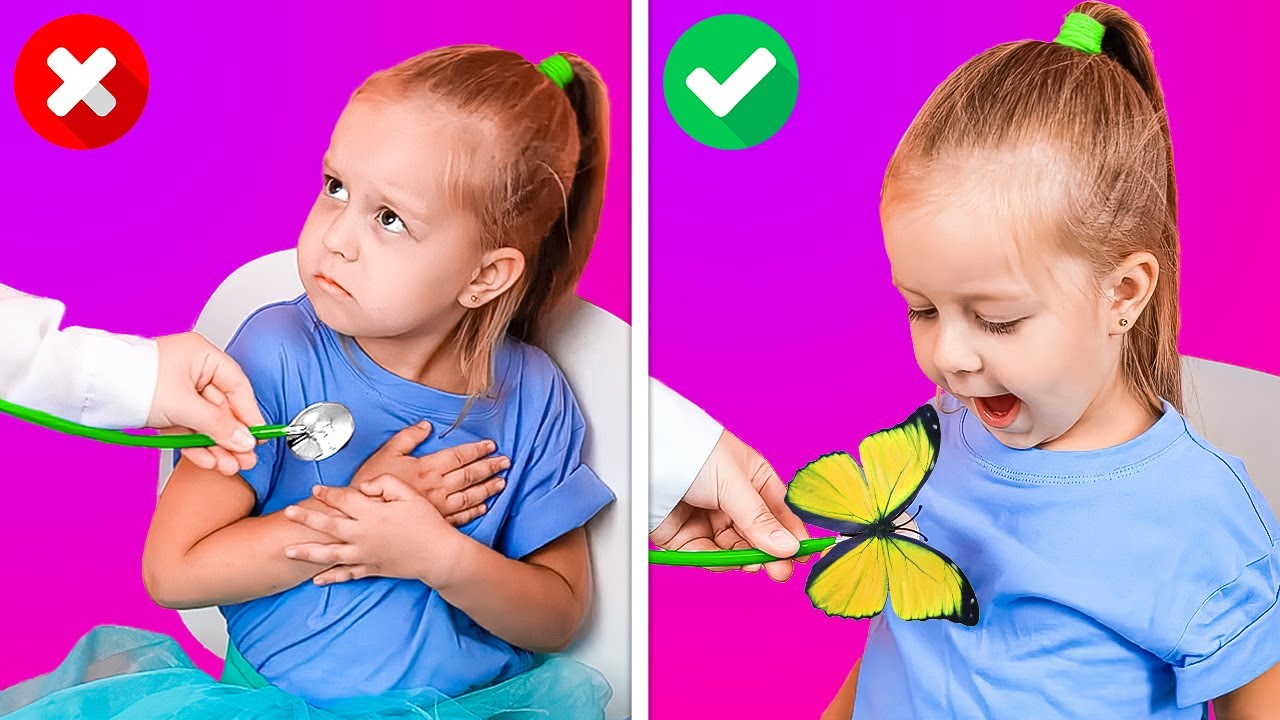 Download KIDS VS. DOCTOR 👶🆚👩⚕️    Smart Hacks For Clever Parents And Satisfying DIY Crafts For Your Kids