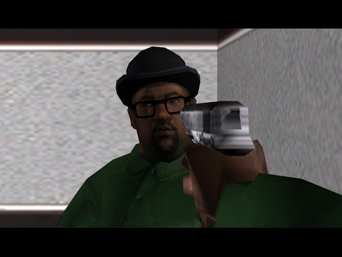 All you had to do was take control of the damn train CJ