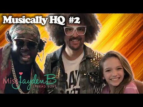 Musically HQ with T-Pain and Red Foo of LMFAO