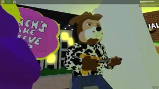 CEC Animatronic:Roblox Chuck E. Cheese Song