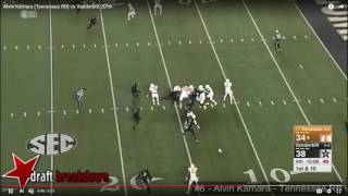 Kamara, a much-hyped running back prospect for the 2017 NFL Draft, ...