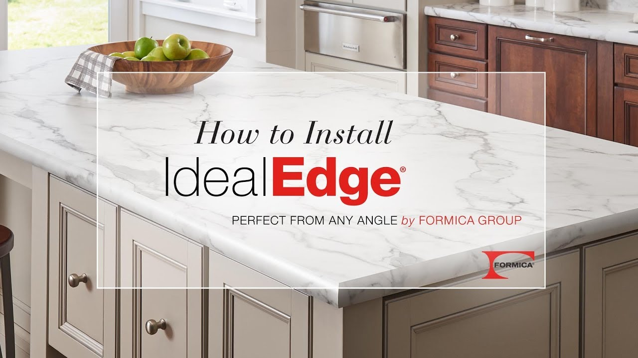How To Install Idealedge Decorative Edging By Formica Group You
