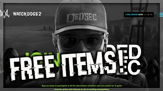 Watch Dogs 2 - (ENDED) FREE EXCLUSIVE ITEMS!! T-SHIRTS, IN-GAME CONTENT, SWEEPSTAKES, & MORE!