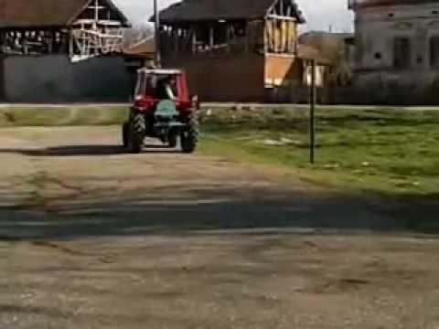 Vitla traktorska 13. IMT/539.  Namotavanje sajle, selo Vražogrnac kod Zaječara.mp4