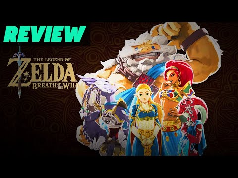 The Legend of Zelda: Breath of the Wild: The Champions' Ballad Video Review