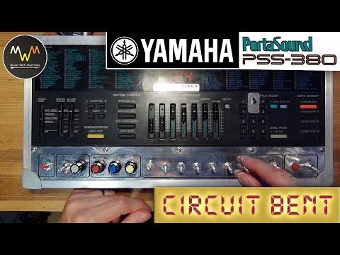 Circuit bent YAMAHA PSS 380