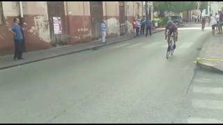 Caduta Incidente gara ciclismo amatoriale