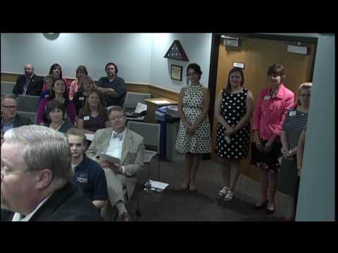 JCCC Board of Trustees Meeting for July 21, 2016