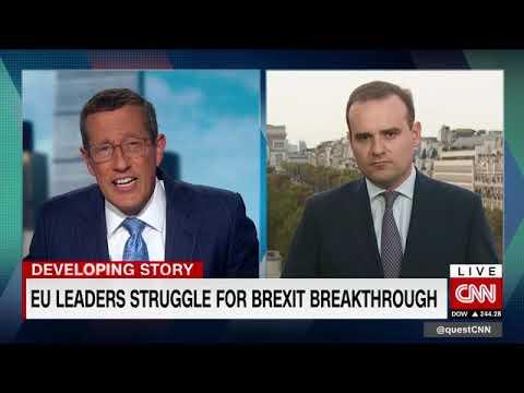 """Interview sur CNN """"Quest means Business"""" - Négociations sur le Brexit"""