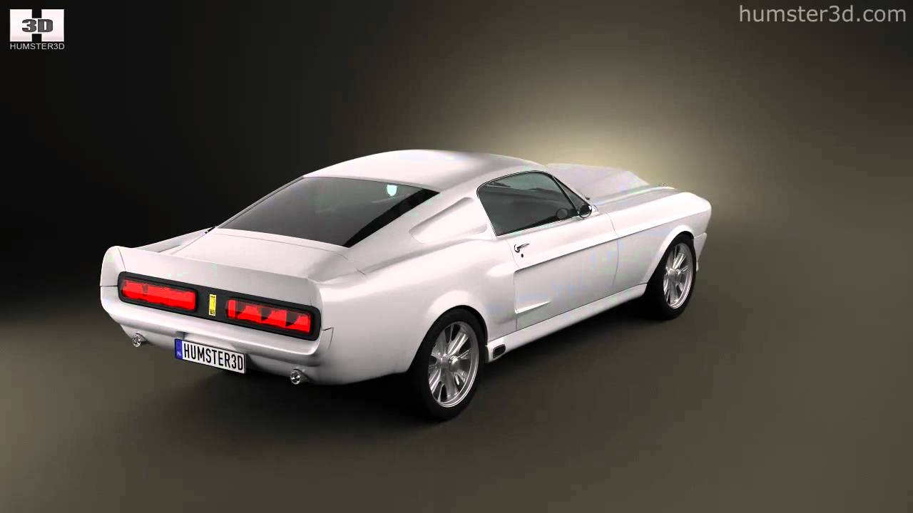 Ford mustang shelby gt500 eleanor 1967 by 3d model store humster3d ford mustang shelby gt500 eleanor 1967 by 3d model store humster3d youtube publicscrutiny Gallery