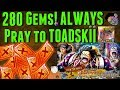 280 Gems TM Crocodile Sugofest | ALWAYS PRAY TO TOADSKII #2 | One Piece Treasure Cruise