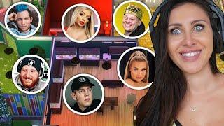 Sims 4 aber jeder Raum MUSS einen anderen YouTuber darstellen!